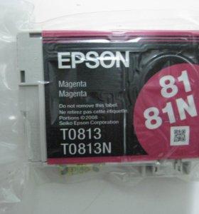Катридж Epson 81/81N, ТО 813/813N, 1 шт.