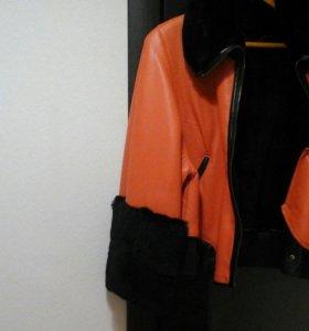 Стильная куртка зима -весна