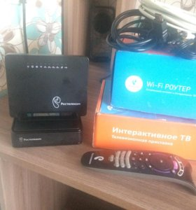 Ip-tv и WiFi-роутер от Ростелекома