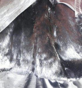 Куртка кожаная мужская на меховой подстежке
