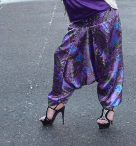 Индийские штаны Алладины