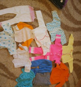 Одежда с рождения. Бесплатно