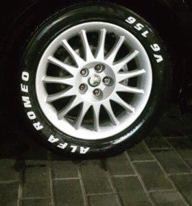 Наклейки на колёса