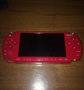 SONY PSP 3008 Red