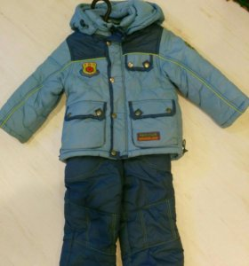 Зимний комплект на мальчика 92