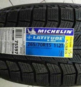 Michelin Latitude X-Ice 265-70-15 Новые!Canada!