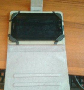 Samsung Galaxy Tab 3 lite SM-T110 + чехол