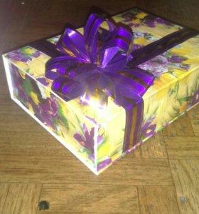 Коробка.для подарка