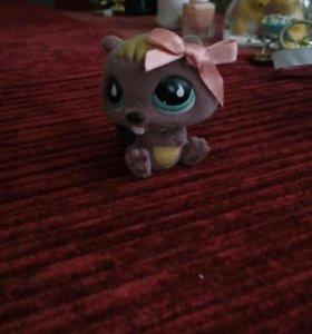 Lps littlest pet shop бобёр