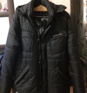 Куртка  мужская новая зимняя 48-52 рост 170 -175