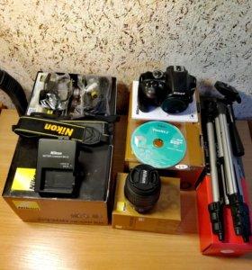 Зеркальная камера Nikon D3300 Kit 18-55mm II Black
