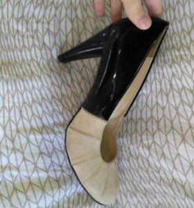 Туфли кожанные alba
