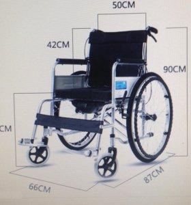 Инвалидное кресло-коляска с туалетом