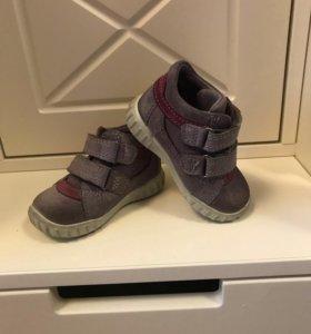 Ботинки ECCO экко, 19 р, 12 см