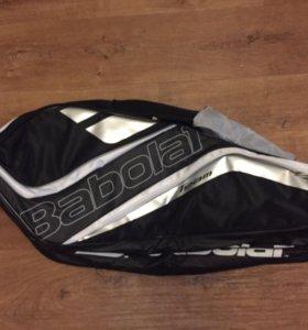 Теннисная сумка Babolat team line x6