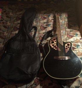 Электро-акустическая гитара.