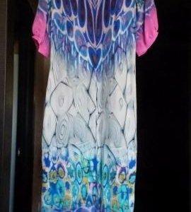Нарядное платье из натурального шелка