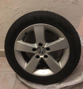 Оригинальные диски хонда цивик с резиной