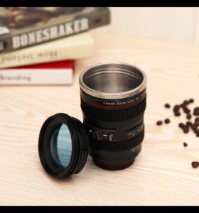 Термокружка в виде объектива камеры