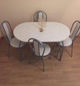 Кухонный комплект 4 стула