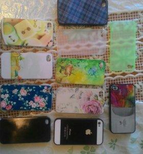 Чехол крышка для IPhone 4,4s