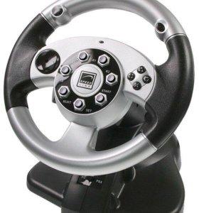 Руль Speed-Link 2in1 Silver Lightning Wheel