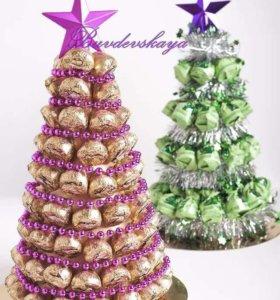 Букеты из конфет.принимаем заказы на день учителя