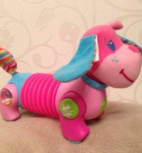 Развивающая игрушка собака Фиона, Tiny love