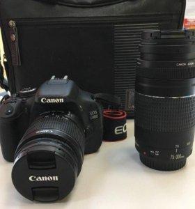 Товар: Фотоаппарат Canon EOS 600D double kit