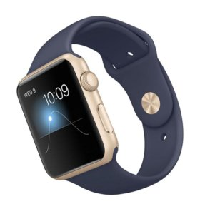 Apple Watch Sport 42mm Gold MLC72 (Midnight Blue)