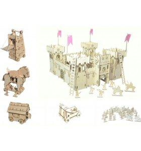 Крепость+ набор осадных орудий