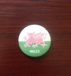 Значок футбольного клуба Wales