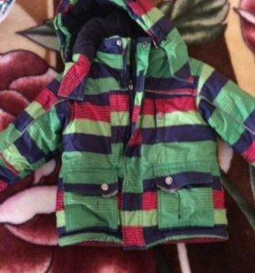 Зимний костюм на мальчика 1-2 годика