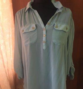 Блуза мятный цвет
