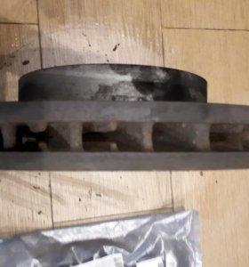 Тормозные диски на VW TOUAREG NF