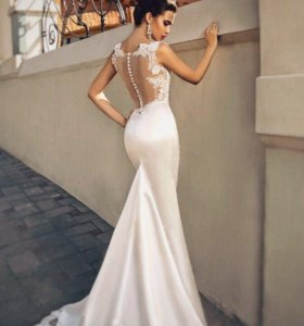 Продам свадебное платье рыбка США