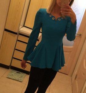 Блуза блузка женская с баской