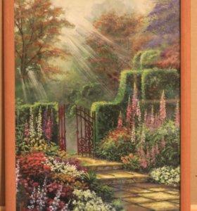 Картина Томаса Кинкейда. Акварель