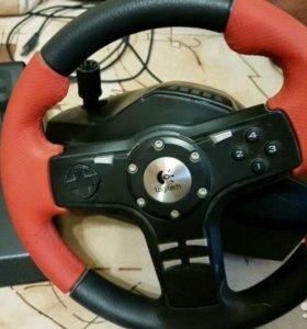 Руль игровой Logitech Formula Force EX