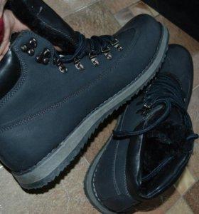 🐈 Зимние ботинки полукроссовки 43 размер