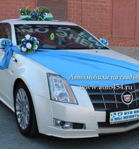 Аренда, прокат свадебных украшений на автомобиль