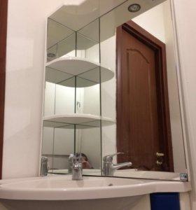 Угловой комплект для ванной комнаты. ( италия )