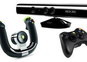 Кинект-руль-геймпад Xbox 360