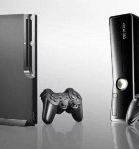 xbox 360 и PS3