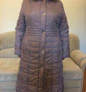 Зимнее пальто 58 размер
