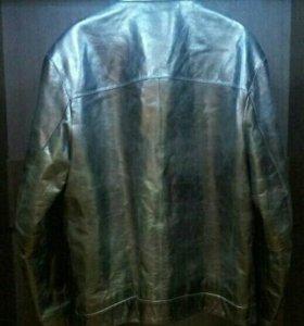 Куртка кожаная ( новая)