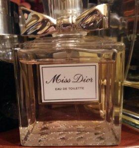 Miss Dior eau de toilette 50 мл