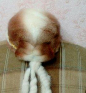Норковая шапка,шуба из нутрии