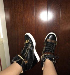Zanotti ботинки на платформе