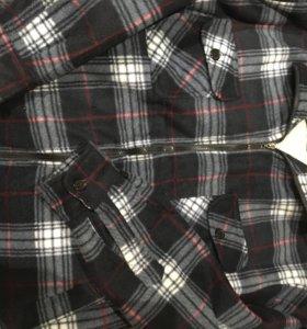 Рубашка мужская , тёплая( новая)